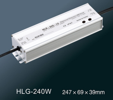 HLG-240W Full function adjustable waterproof power supply