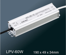LPV-60W LED constant voltage waterproof switching power supply