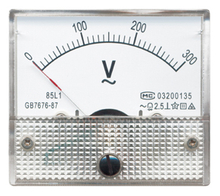 85L1 Moving Coil Instruments With Rectifier AC Voltmeter