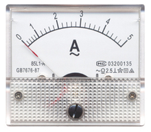 85 Moving Coil Instruments With Rectifier AC Ammeter