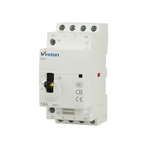 Hot Chinese Product 240V Manual 4P Coil Mini Contactor