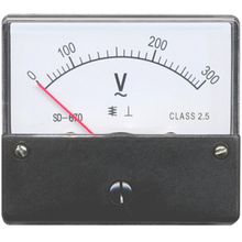 SD670 Moving Iron Instruments AC Voltmeter