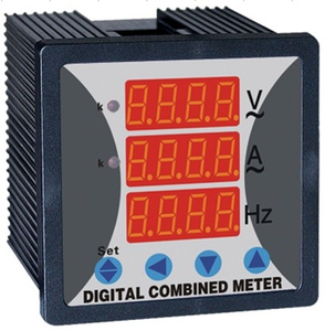 WST294Z Single Phase Digital voltage,current,frequency combined meter