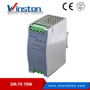 Factory 75W DR-75-24 Single output LED power supply with CE approved