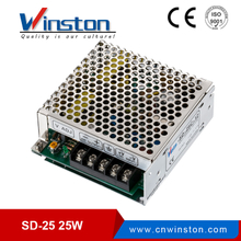 Winston SD-25W 25W dc to dc 9.2vdc to 72 vdc input single output smps