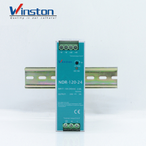 Winston NDR120-24 Industrial Use Dc 120W 24V 5A Single Switch Power Supply