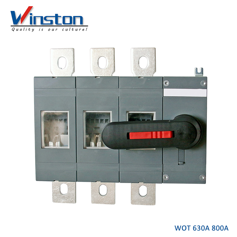 High Voltage WOT 630A 800A Load Isolating Switch