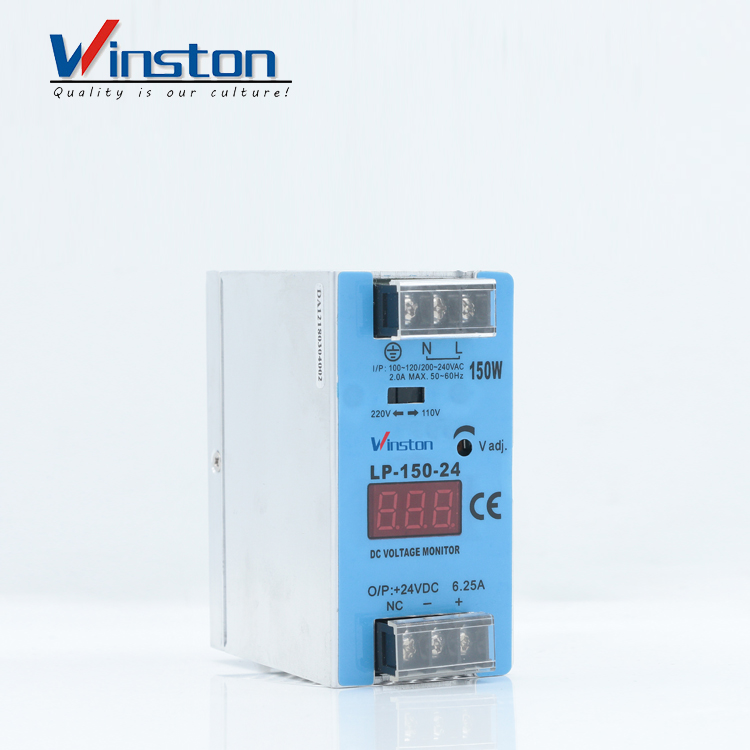 Winston Electrical Equipment din rail 150W 24V industrial power supply LP150-24