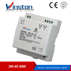 High efficiency DR-30-5 30W 5V SIngle output din rail LED driver