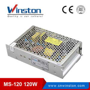 CE,ROHS,EMC MS-120 120W 220v ac dc 5V 12V 15V 24V Switching Power Supply With 2 Years Warranty