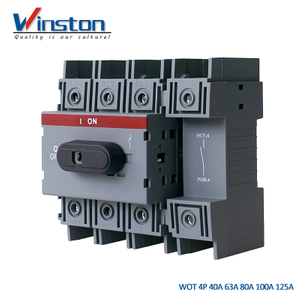 WOT Series 4Pole 40A - 125A Load Switch Disconnector