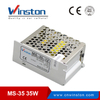 CE Rohs 35W MS-35 5v 12v 15v 24v dc mini size single output SMPS switching power supply with 2 years warranty