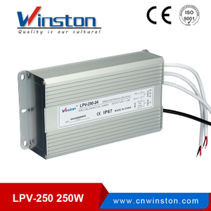 Mini CE ROHS LPV-250 250w waterproof led driver power supply for fountain light