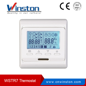 Widely Use Weekly Programming Room Thermostat WSTR7