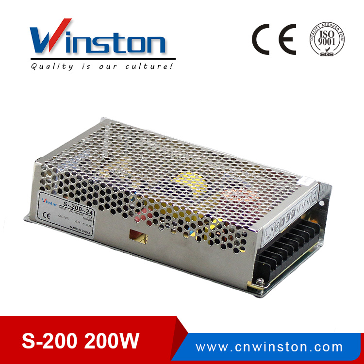 Ordinary Indoor 200W S-200 Switch Mode Power Supply