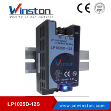 25W Single output din rail LP1025D-12S 12v led driver power supply